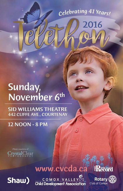 41ST ANNUAL TELETHON  SUNDAY, NOVEMBER 6, 2016