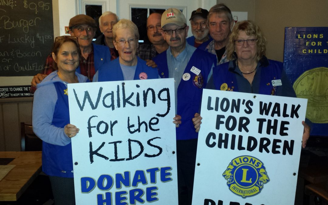 2018 Lions Walk for the Kids