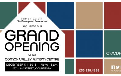 Grand Opening on Dec 5 for the Comox Valley Autism Centre