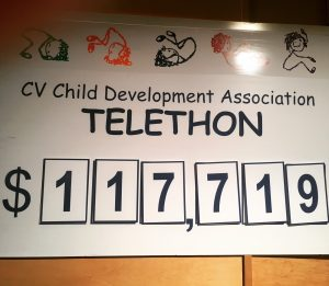 2018 CVCDA Telethon Talley Board