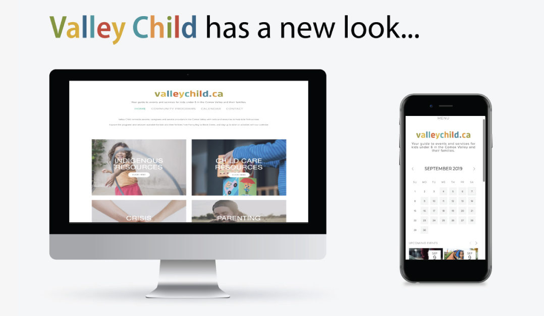 Valleychild.ca website gets a refresh