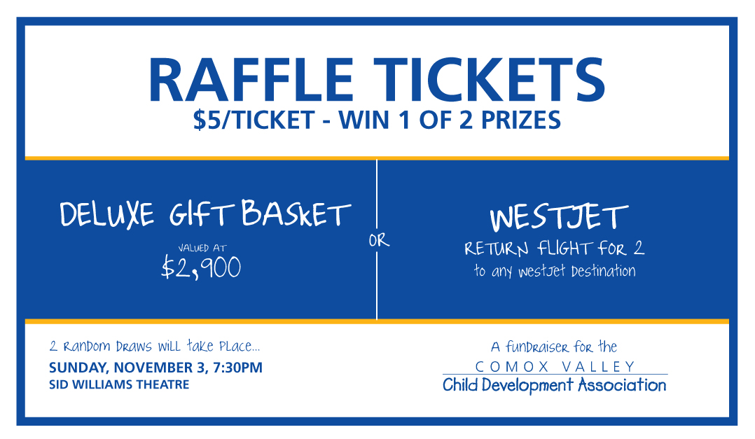 Win one of two grand prizes for CVCDA's annual fundraising raffle
