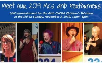 Meet the 2019 CVCDA Children's Telethon MC's and Entertainment