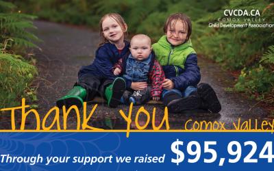 Comox Valley raises $95,924 for local child development services