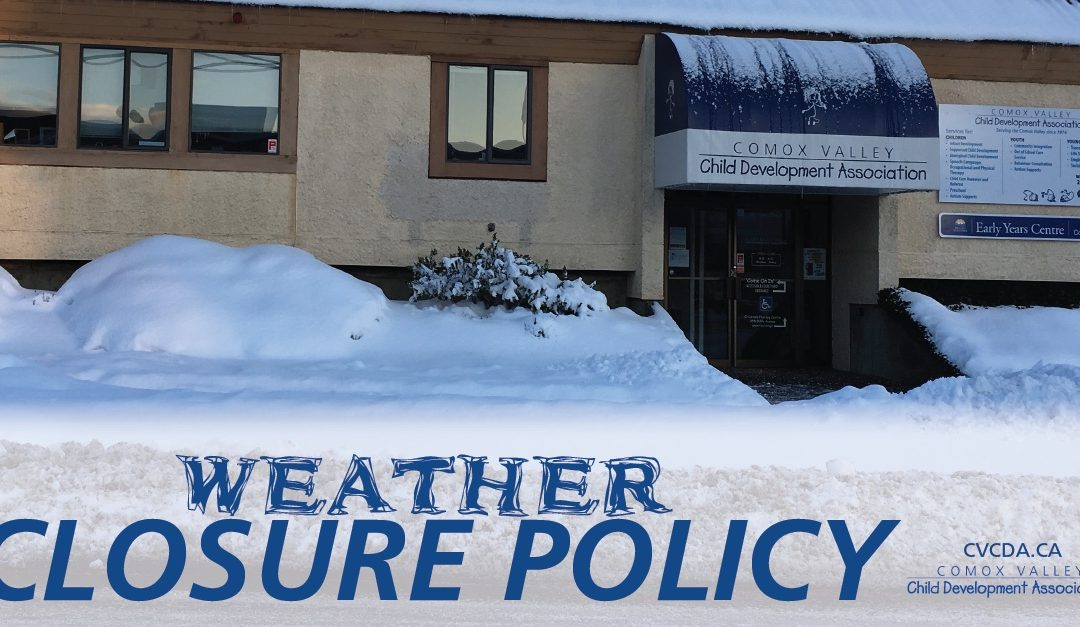 CVCDA Inclement Weather Policy