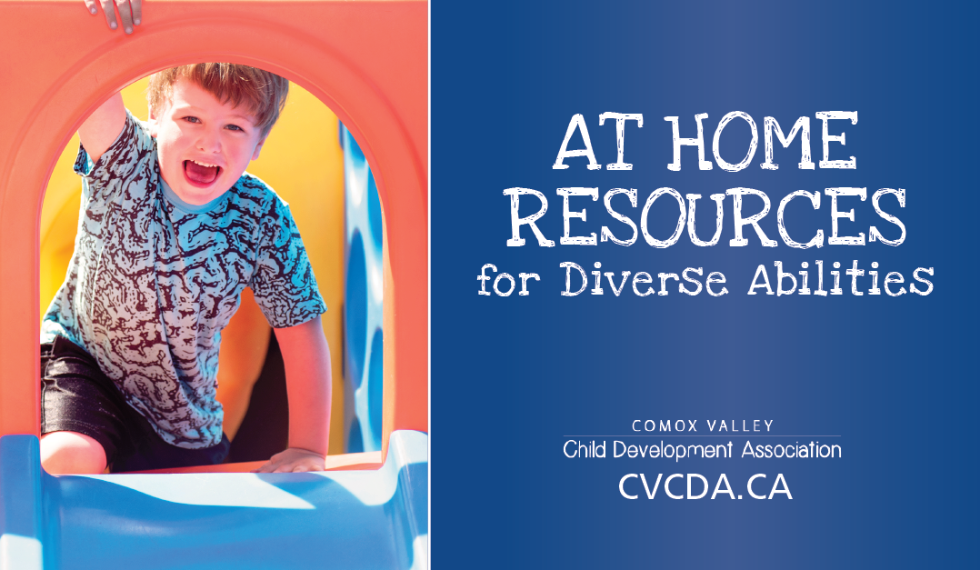 CVCDA's At Home Resource Page for Diverse Abilities