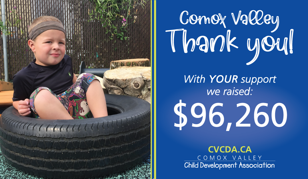 Comox Valley raises $96,260 for the Accessibility Project Fund