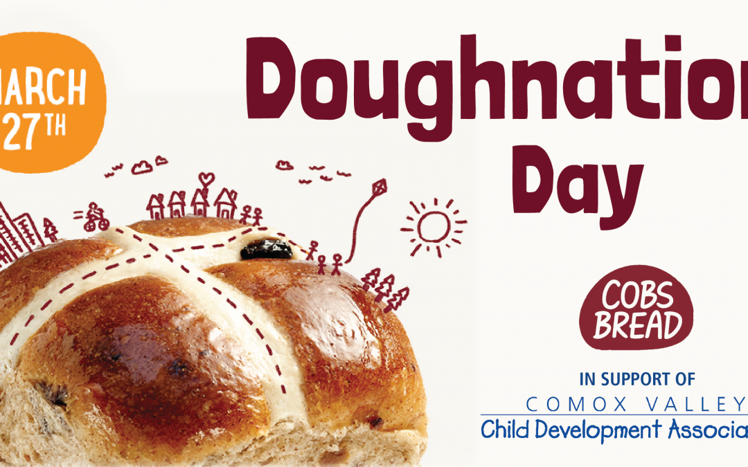 Cobs Bread Doughnation Day supports child development in the Comox Valley, March 27