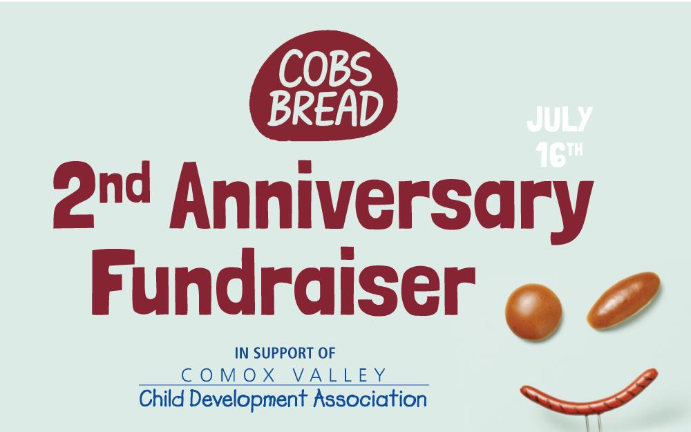 Cobs 2nd Anniversary Fundraiser